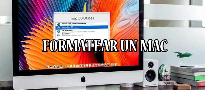 Cómo formatear un MAC desde cero a su estado de fábrica